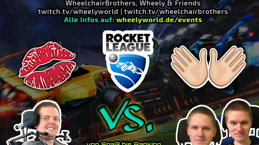 Mund vs Hände - Rocket League Stream 10.03.18