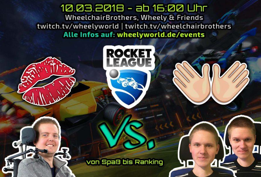 Mund vs Hände - Rocket League Stream 10.03.18